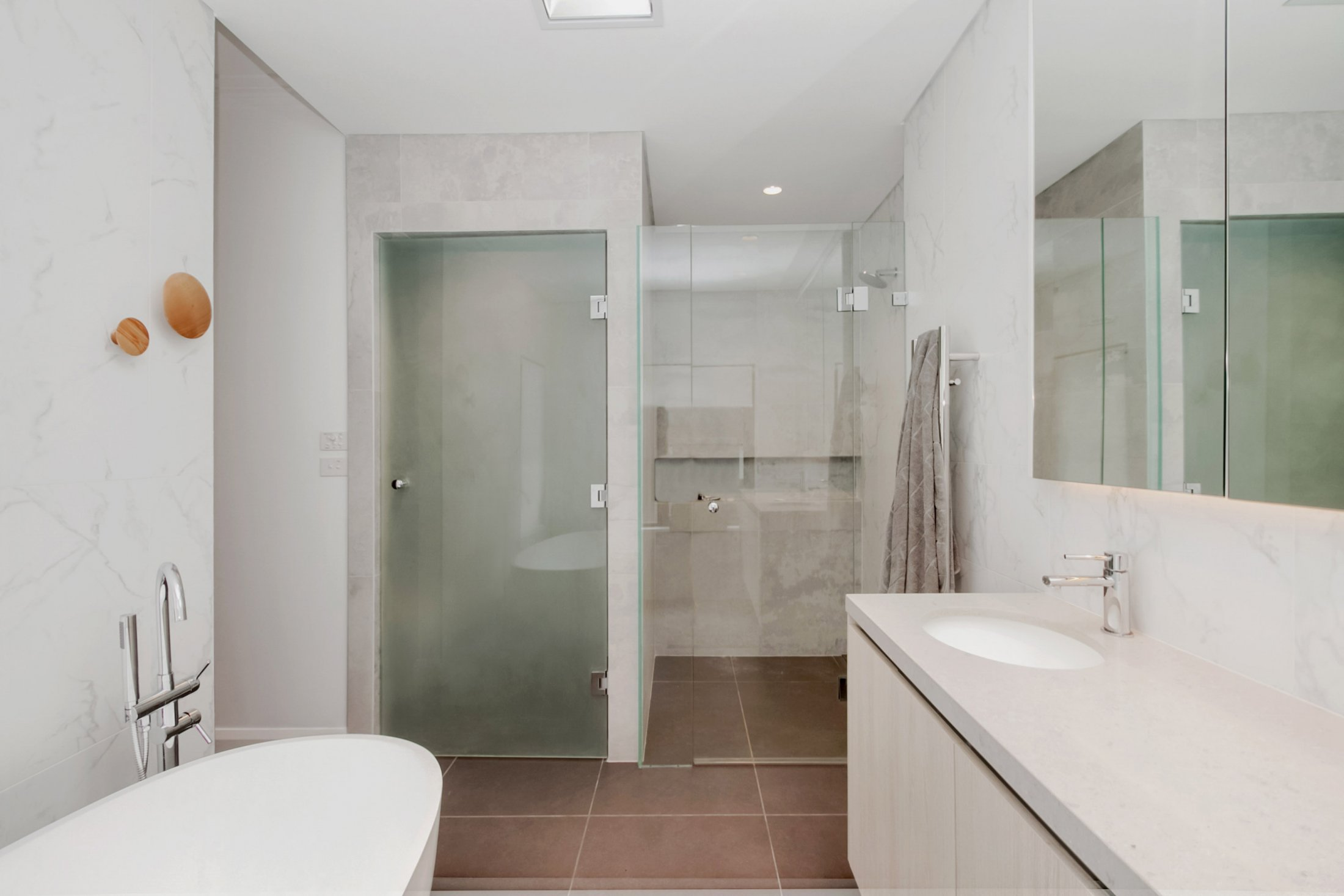 Custom Shower & Door (Ensuite) Dover Heights
