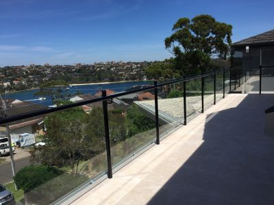 Custom Glass Balustrade - Clontarf